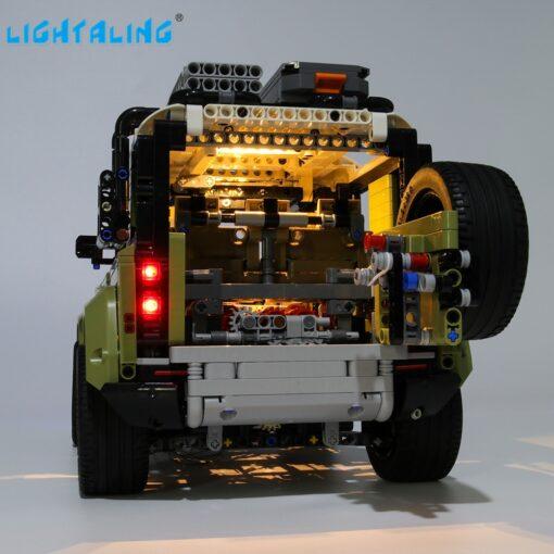 Lightaling Led Light Kit For Technic Landrover Defender Vehicles Toy Building Blocks Compatible With 42110 Lighting 5