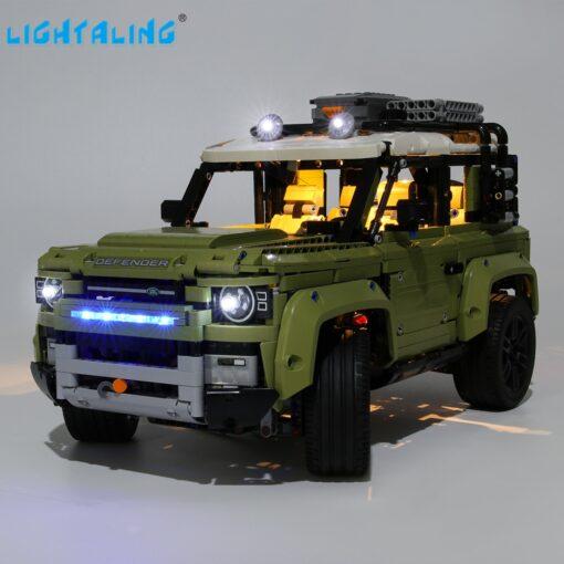 Lightaling Led Light Kit For Technic Landrover Defender Vehicles Toy Building Blocks Compatible With 42110 Lighting