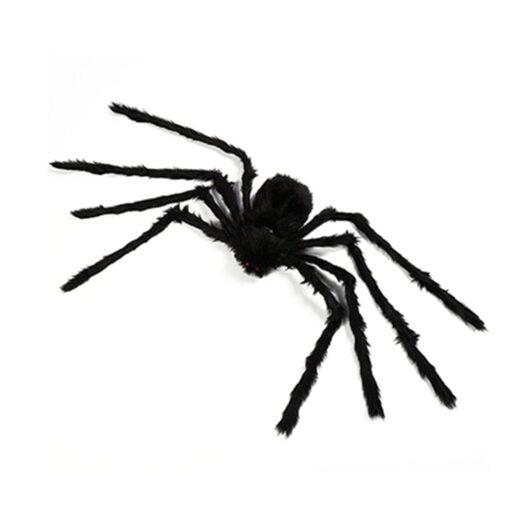 Lightweight Super Large Halloween Spider Plush Halloween Props Decoration Simulation Plush Spider 9