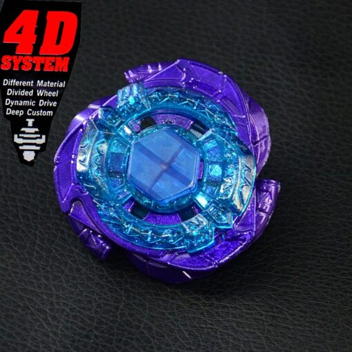 Limited Beyblades Spinning Metal Top Fury Omega Dragonis 4D Bey BB128 1
