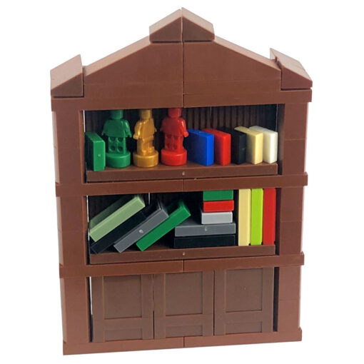 Locking MOC Creator Blocks Desk Bookcase Piano Bathtub Set Building Blocks Toys for Children for Creator 4