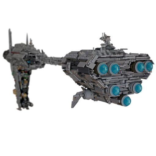 MOC 5083 Star Toys War Compatible UCS Nebulon B Medical Frigate Model Building Blocks Bricks Christmas 4