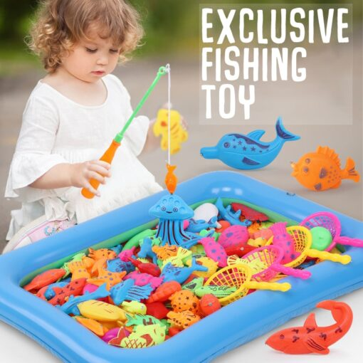 Magneet Vissen Fishing Toys for Toddler Children Fishing Game Educational Toys Fish 1