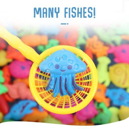 Magneet Vissen Fishing Toys for Toddler Children Fishing Game Educational Toys Fish 3