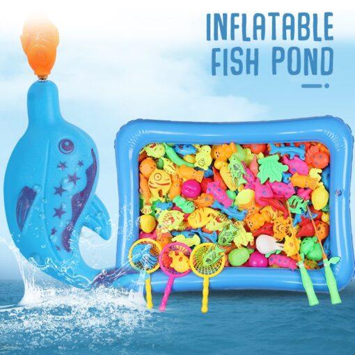 Magneet Vissen Fishing Toys for Toddler Children Fishing Game Educational Toys Fish 4