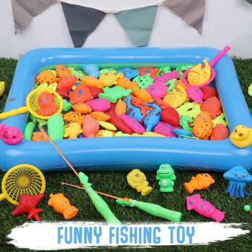 Magneet Vissen Fishing Toys for Toddler Children Fishing Game Educational Toys Fish 5