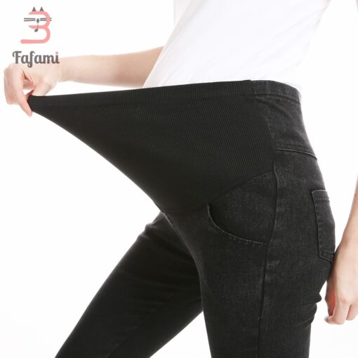 Maternity Pants Maternity Jeans for Pregnant Women Plus Size Pregnancy clothes Elastic Skinny Trousers Jeans Over 5