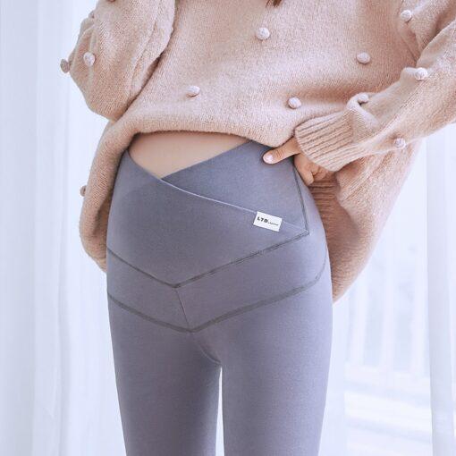 Maternity Pants Soft Slim Adjustable Waist Pregnant Women Leggings Pregnancy Maternity Clothes Ropa Mujer Embarazada Premama
