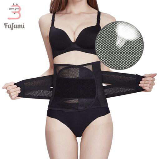 Maternity postpartum belt bandage slimming corset corsets bustiers Plus size Women waist trainer waist body shaper 1