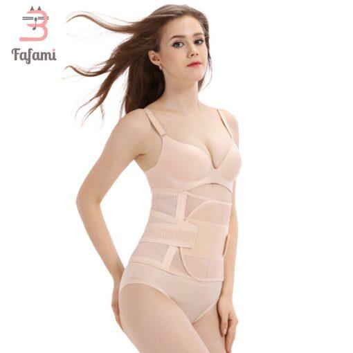 Maternity postpartum belt belly bands support maternity belt bandage pregnancy slimming corset pregnant waist shaper women 4