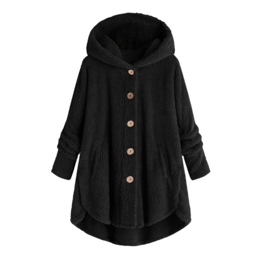Maternity wear women s autumn and winter hooded warm jacket female casual pregnant women loose ladies 2