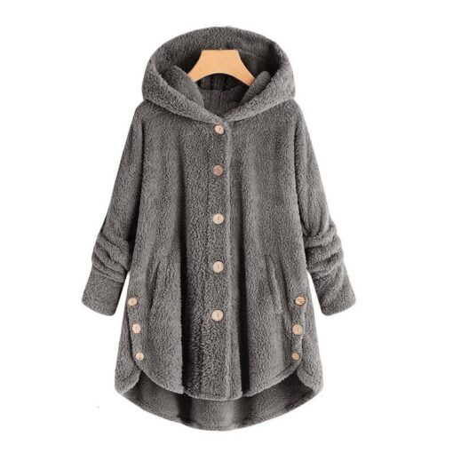 Maternity wear women s autumn and winter hooded warm jacket female casual pregnant women loose ladies