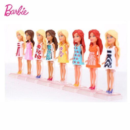 Mattel Mini Barbie Girl Dolls Cute Pet Series Princess Girl Birthday Surprise Gift Cute Toys for 2