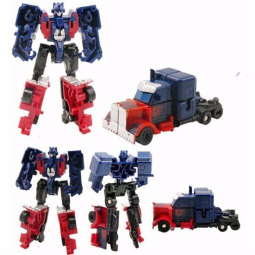 Meng Badi 1pcs lot Transformation Toys Mini Robots Car Action Figures Toys Brinquedos kids toys gift 1