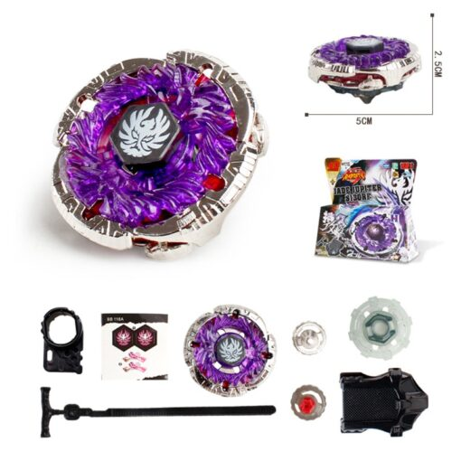 Metal Fusion 4D Sets With Launcher Battle Gyros 4D Gyro Set Spinning Classic Top Gyro in 1