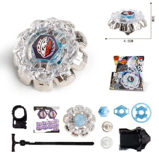 Metal Fusion 4D Sets With Launcher Battle Gyros 4D Gyro Set Spinning Classic Top Gyro in 4