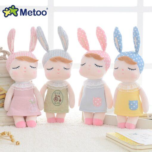 Metoo Doll Stuffed Toys Plush Animals Soft Baby Kids Toys for Children Girls Boys Kawaii Mini