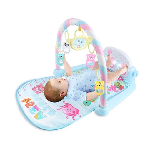Mini Baby Play Mat Kids Rug Educational Puzzle Carpet With Piano Keyboard And Cute Animal Playmat 1