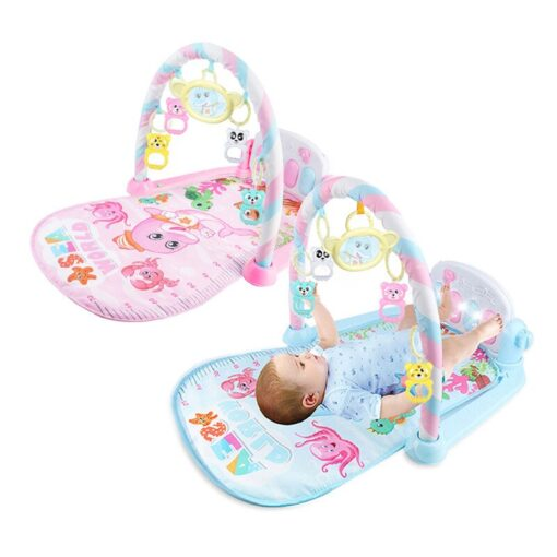 Mini Baby Play Mat Kids Rug Educational Puzzle Carpet With Piano Keyboard And Cute Animal Playmat 2