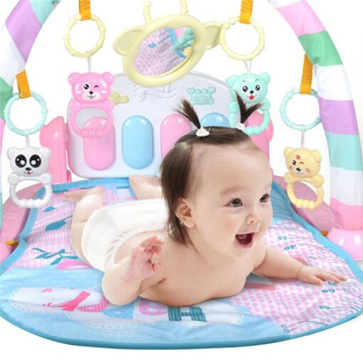Mini Baby Play Mat Kids Rug Educational Puzzle Carpet With Piano Keyboard And Cute Animal Playmat 3