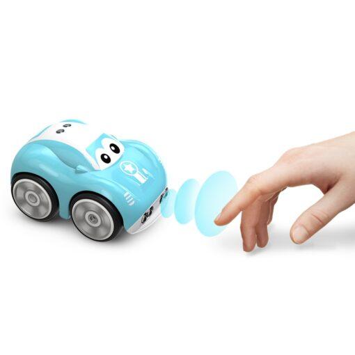 Mini Cute RC Car Inductive Toy For Children Kids Electric Remote Control Car 25Mins Aotu Follow 1