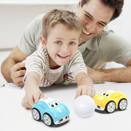 Mini Cute RC Car Inductive Toy For Children Kids Electric Remote Control Car 25Mins Aotu Follow 3