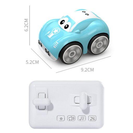 Mini Cute RC Car Inductive Toy For Children Kids Electric Remote Control Car 25Mins Aotu Follow 4