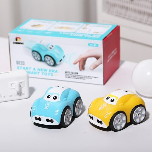 Mini Cute RC Car Inductive Toy For Children Kids Electric Remote Control Car 25Mins Aotu Follow 5