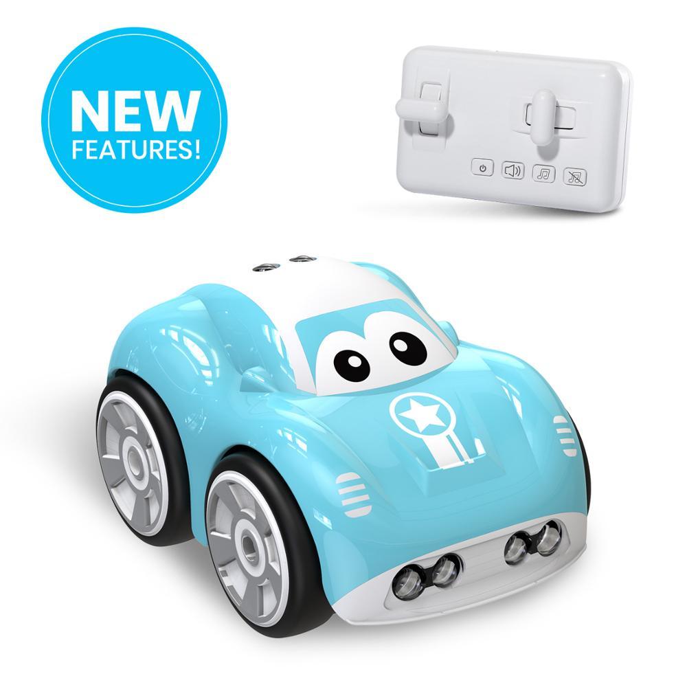 Mini Cute RC Car Inductive Toy For Children Kids Electric Remote Control Car 25Mins Aotu Follow