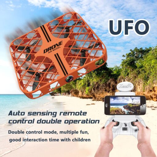 Mini Drone Altitude Hold RC Helicopter FPV Quadrocopter Drones Gift racing drone Anti collision Flying UFO