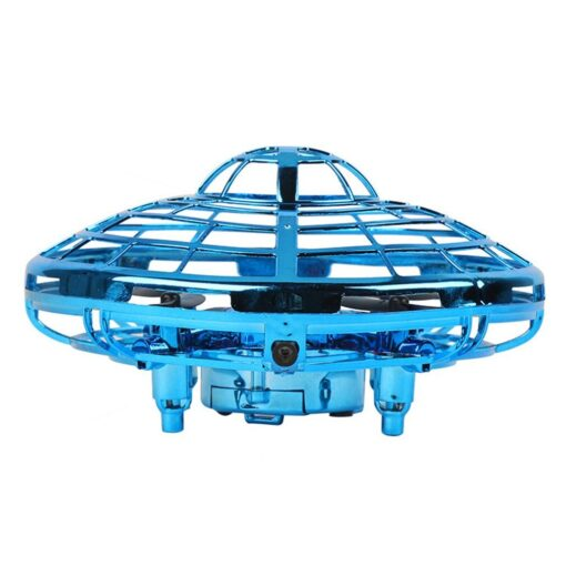 Mini Drone UFO Hand Operated RC Helicopter Quadrocopter Dron Infrared Induction Aircraft Flying Ball Toys For 14