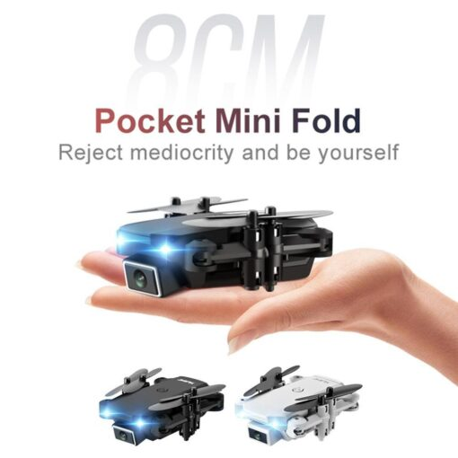 Mini Drone With 720P 4K HD Camera Aerial RC Quadcopter Optical Flow Hover Smart Follow Helicopter 1