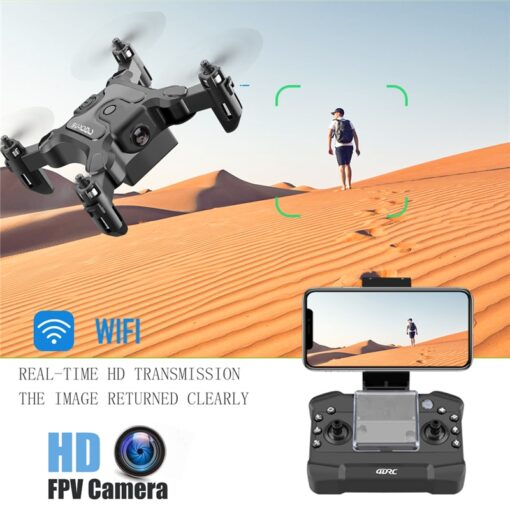 Mini Drone With Without HD Camera Hight Hold Mode RC Quadcopter RTF WiFi FPVQuadcopter Follow Me 2