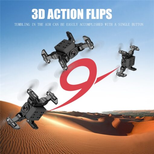 Mini Drone With Without HD Camera Hight Hold Mode RC Quadcopter RTF WiFi FPVQuadcopter Follow Me 3