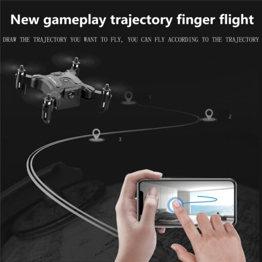 Mini Drone With Without HD Camera Hight Hold Mode RC Quadcopter RTF WiFi FPVQuadcopter Follow Me 4