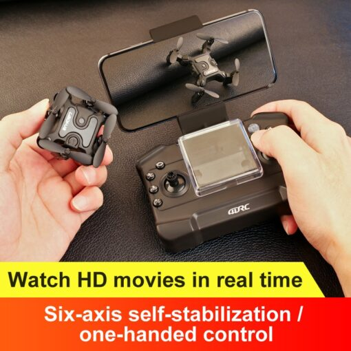 Mini Drone With Without HD Camera Hight Hold Mode RC Quadcopter RTF WiFi FPVQuadcopter Follow Me