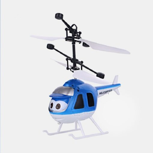 Mini Induction RC drone Infrared Sensor Helicopter Electronic plane Quadcopter Model Suspended Cartoon dron gift Children 1
