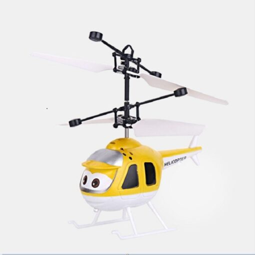 Mini Induction RC drone Infrared Sensor Helicopter Electronic plane Quadcopter Model Suspended Cartoon dron gift Children 2