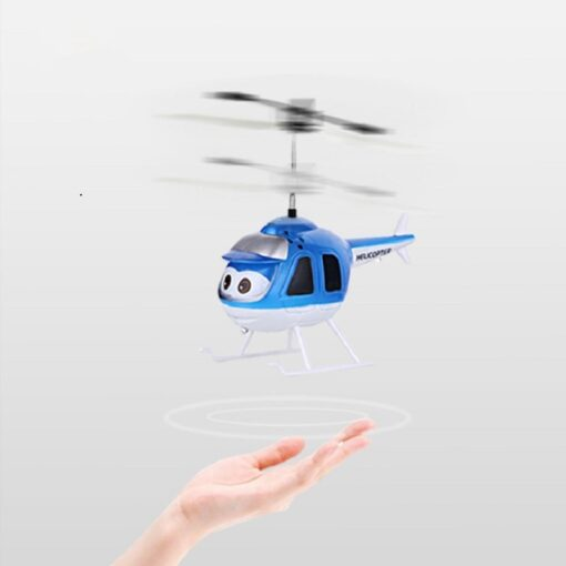 Mini Induction RC drone Infrared Sensor Helicopter Electronic plane Quadcopter Model Suspended Cartoon dron gift Children 3