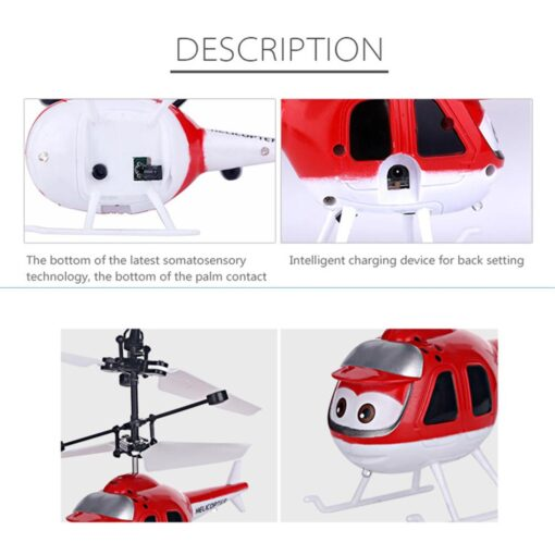 Mini Induction RC drone Infrared Sensor Helicopter Electronic plane Quadcopter Model Suspended Cartoon dron gift Children 4