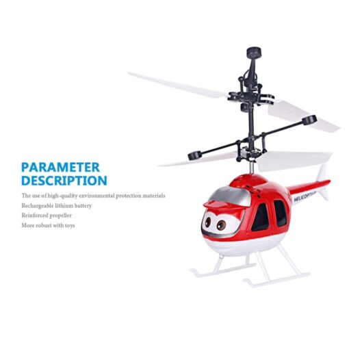 Mini Induction RC drone Infrared Sensor Helicopter Electronic plane Quadcopter Model Suspended Cartoon dron gift Children 5