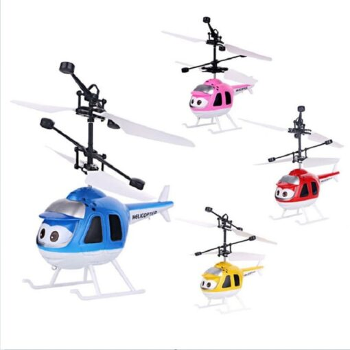 Mini Induction RC drone Infrared Sensor Helicopter Electronic plane Quadcopter Model Suspended Cartoon dron gift Children