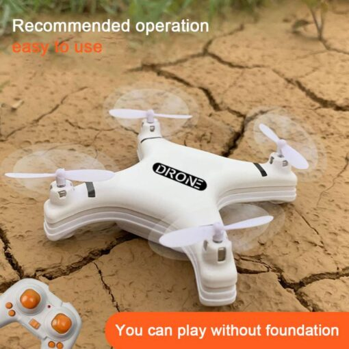 Mini RC Drone 2 4G Remote Control Helicopters Quadcopter Aircraft Headless Mode 4