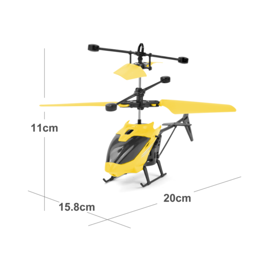 Mini RC Drone Helicopter Infraed Induction 2 Channel Electronic Funny Suspension Dron Aircraft Quadcopter Small drohne