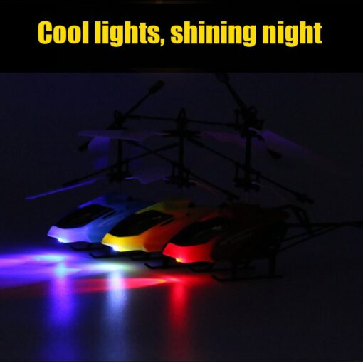 Mini Remote Control Drone Helicopter Flying Suspension Induction Aircraft LED Light USB Charge Dron Boy Gift 3