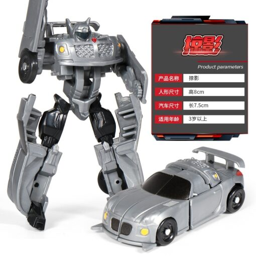 Mini Transformation Robot Toy Engineering Vehicle Model Educational Assembling Deformation Toy for Children Action Figure Car 4