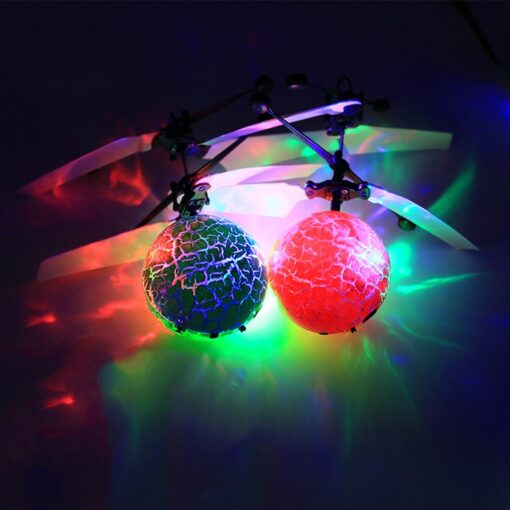 Mini drone Remote Control RC Helicopter Aircraft Flying Ball flying toys Ball LED Light Quadcopter Dron 3