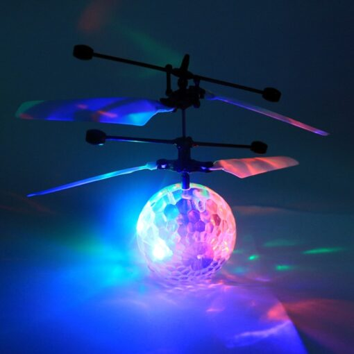 Mini drone Remote Control RC Helicopter Aircraft Flying Ball flying toys Ball LED Light Quadcopter Dron 4