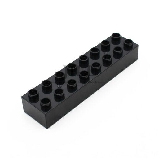 Moc Big Building Blocks Duploed Brick 2x8 4199 Large Particles DIY Creative Compatible with Assembles Accessories 3