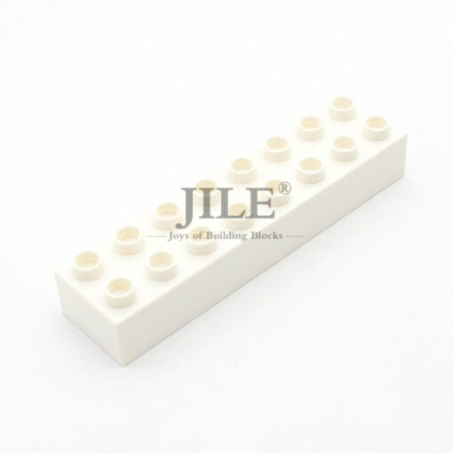 Moc Big Building Blocks Duploed Brick 2x8 4199 Large Particles DIY Creative Compatible with Assembles Accessories 4